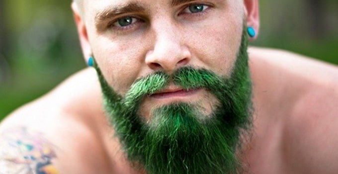 teindre sa barbe / coloration