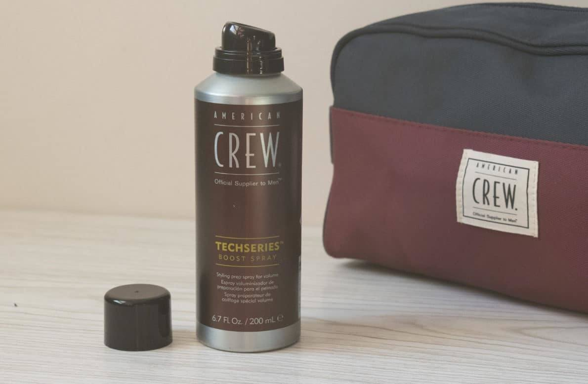 Boost spray Techseries American Crew avis et test