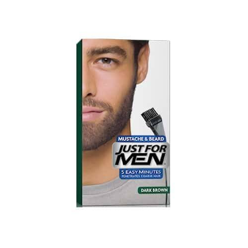 coloration barbe chatain foncé | Just for men