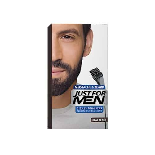 coloration barbe noire | Just for men