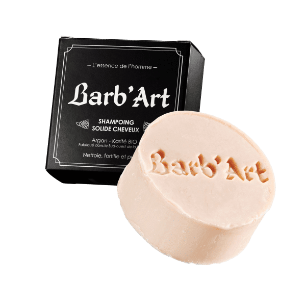 shampoing solide Barb'art