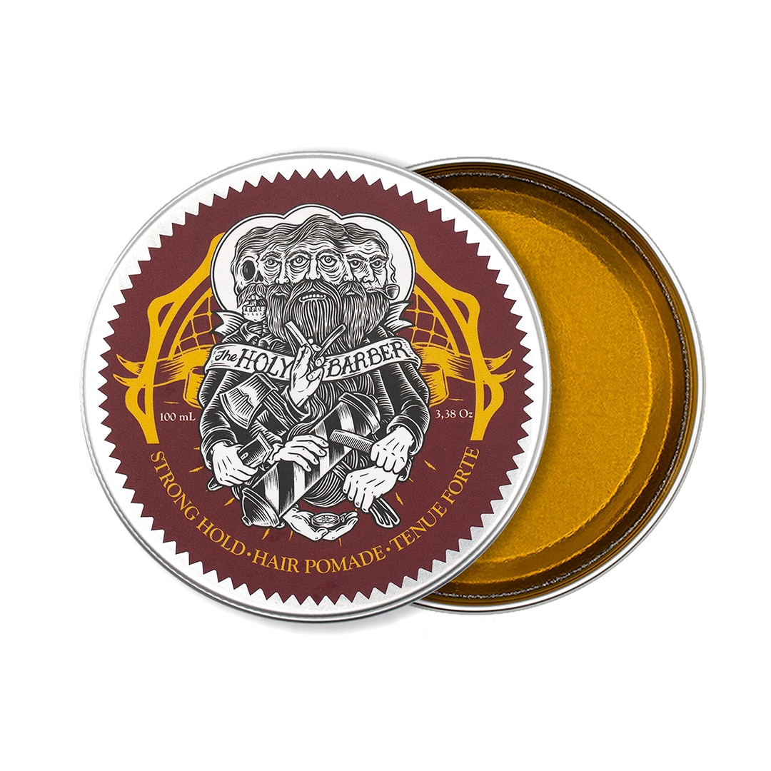 Pomade Strong Hold The Holy Barber